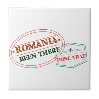 Romania Been There Done That Tile