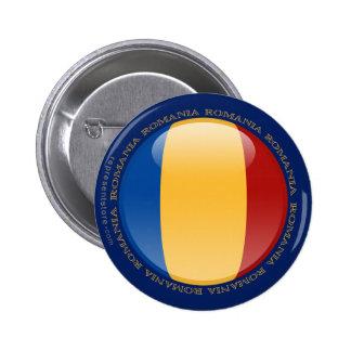Romania Bubble Flag Buttons
