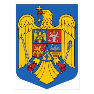 Romania - Coat of Arms. Emblem Postcard