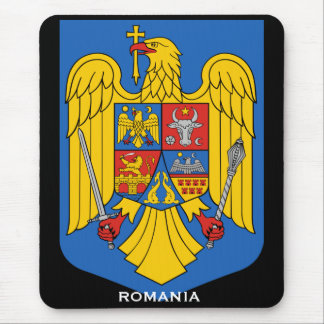 Romania Coat of Arms Mousepad