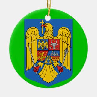 ROMANIA* Custom Christmas Ornament