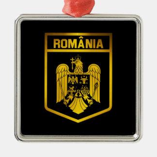 Romania Emblem Metal Ornament