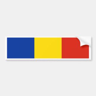 Romania Flag Bumper Sticker
