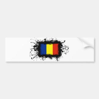 Romania Flag Bumper Stickers