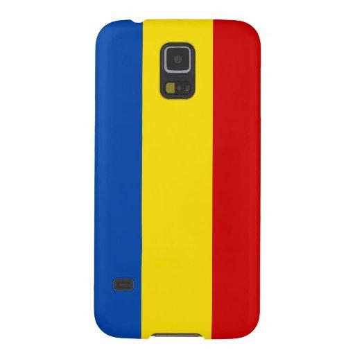 Romania Flag Samsung Galaxy Nexus Cases