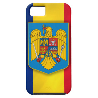Romania Flag & Coat of Arms Case For The iPhone 5