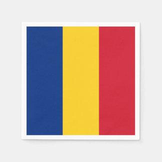Romania Flag Disposable Napkins