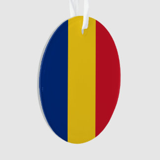 Romania Flag Ornament