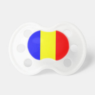 Romania Flag Pacifier