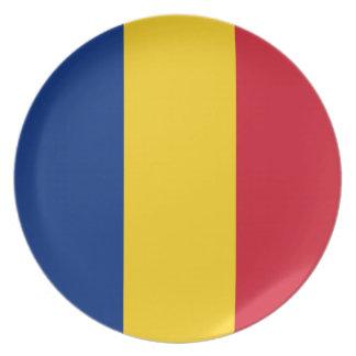 Romania Flag Plate