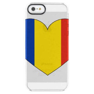 Romania Flag Simple Clear iPhone SE/5/5s Case