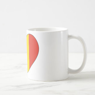Romania Flag Simple Coffee Mug