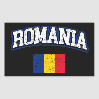 Romania Flag Sticker