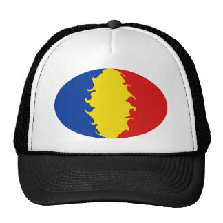Romania Gnarly Flag Hat