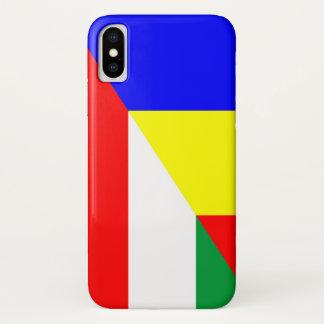 romania hungary flag country half symbol Case-Mate iPhone case