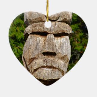 Romania, Meet Vlad Dracul Ceramic Heart Ornament