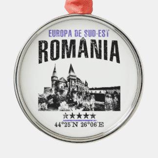 România Metal Ornament