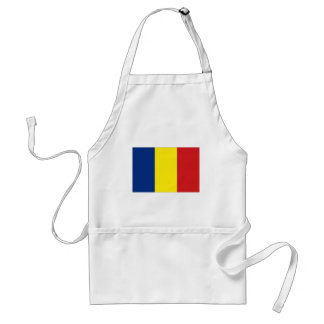 Romania National Flag Adult Apron