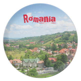 Romania Party Plate
