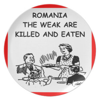 ROMANIA PLATES