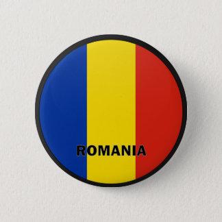 Romania Roundel quality Flag 2 Inch Round Button