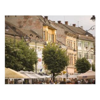 Romania, Sibiu. New Town. RF) Postcard