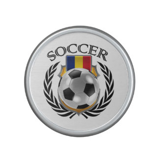 Romania Soccer 2016 Fan Gear Bluetooth Speaker