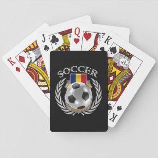 Romania Soccer 2016 Fan Gear Playing Cards