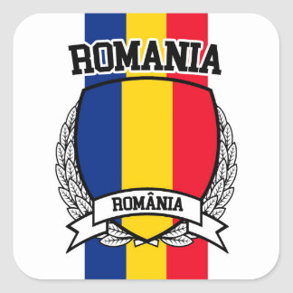 Romania Square Sticker