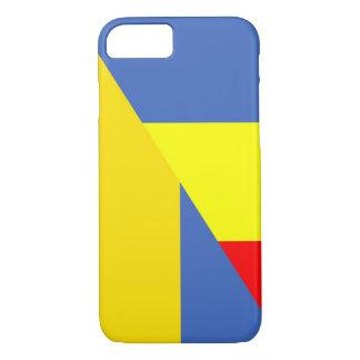 romania ukraine flag country half symbol iPhone 8/7 case