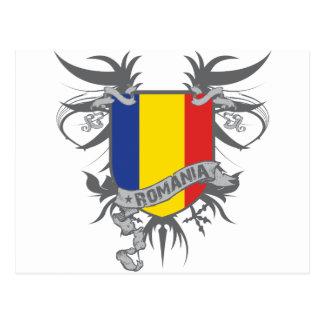 Romania Winged Postcard