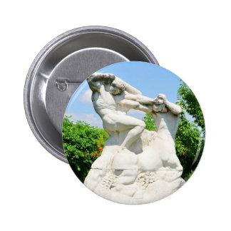 Romanian architecture 2 inch round button