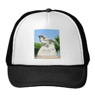 Romanian architecture trucker hat