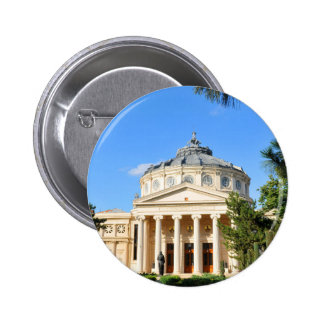 Romanian Athenaeum in Bucharest, Romania 2 Inch Round Button