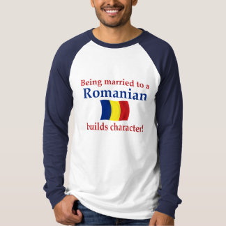 Romanian Builds Character T-Shirt
