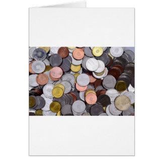 romanian coins card
