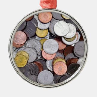 romanian coins metal ornament