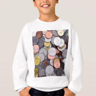 romanian coins sweatshirt