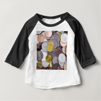 Romanian currency coins baby T-Shirt