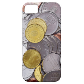 Romanian currency coins case for the iPhone 5