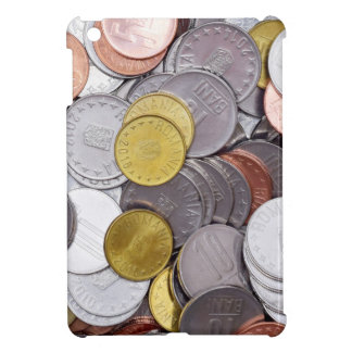 Romanian currency coins iPad mini covers