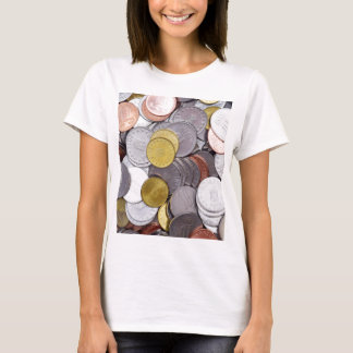 Romanian currency coins T-Shirt