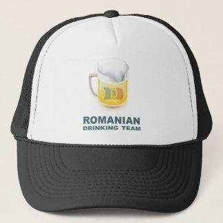 Romanian Drinking Team Trucker Hat