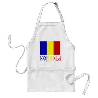 Romanian Flag and ROmania Standard Apron