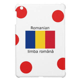 Romanian Language And Romania Flag Design iPad Mini Cover