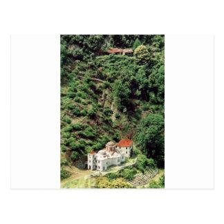 Romanian Skete Lakkoskiti, at Mount Athos Postcard