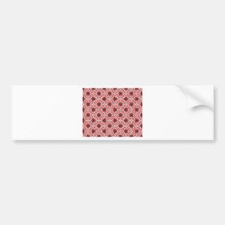 romanian traditional ethnic costume motif seamless bumper sticker