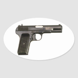 Romanian TTC - Tokarev Oval Sticker