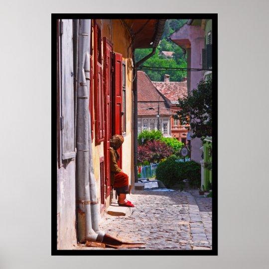 Romanian Woman Poster
