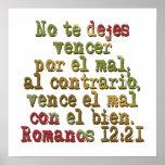 Romanos 12:21 posters